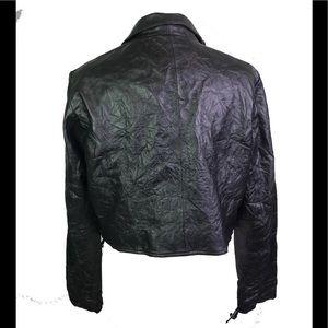 Barneys New York Jackets & Coats - Barney originals 100% leather corset jacket US12